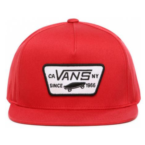 Vans BY FULL PATCH SNAPBACK BOYS red - Kids' baseball cap