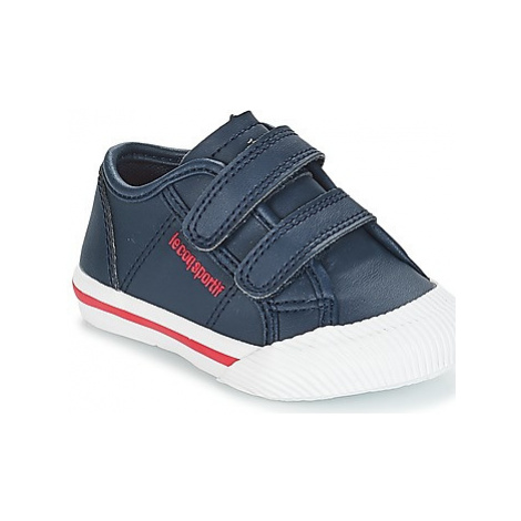 Le Coq Sportif DEAUVILLE-INF WINTER SPORT girls's Children's Shoes (Trainers) in Blue