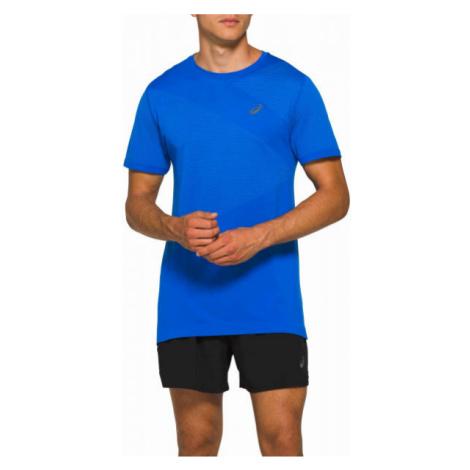 Asics TOKYO SEAMLESS SS blue - Men's running T-shirt