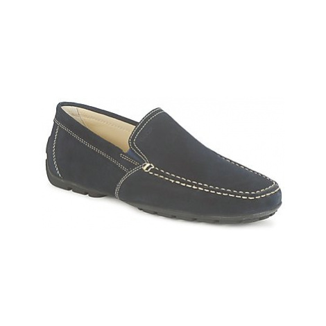 Geox MONET men's Loafers / Casual Shoes in Blue