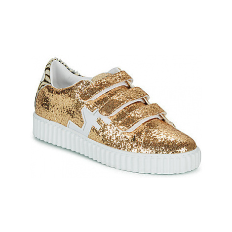 Serafini MADISON women's Shoes (Trainers) in Gold