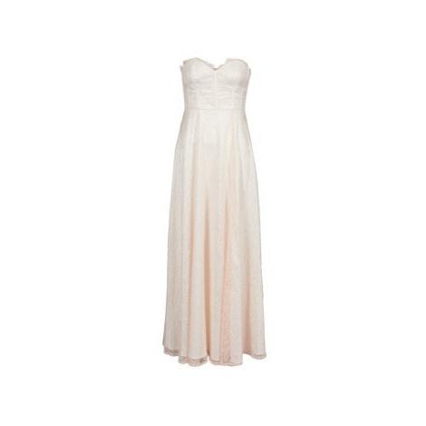 Manoukian 613346 women's Long Dress in Pink