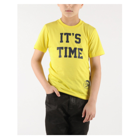 Diesel Tillo Kids T-shirt Yellow