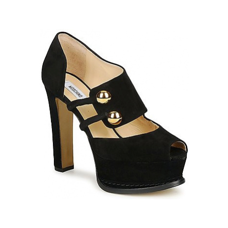 Moschino MA1608 women's Court Shoes in Black
