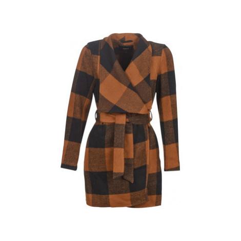 Only ONLFREYA women's Coat in Brown