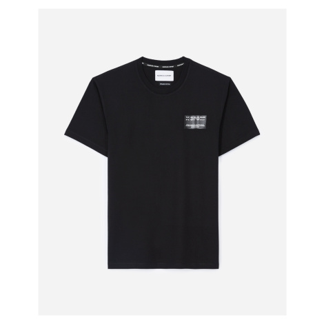 The Kooples - Black T-shirt in cotton with breast patch - MEN The Kooples Sport