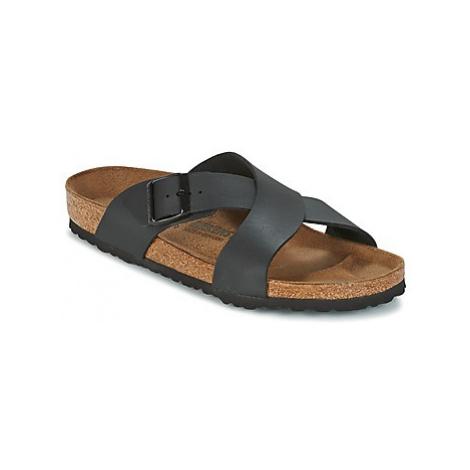 Birkenstock TUNIS men's Mules / Casual Shoes in Black