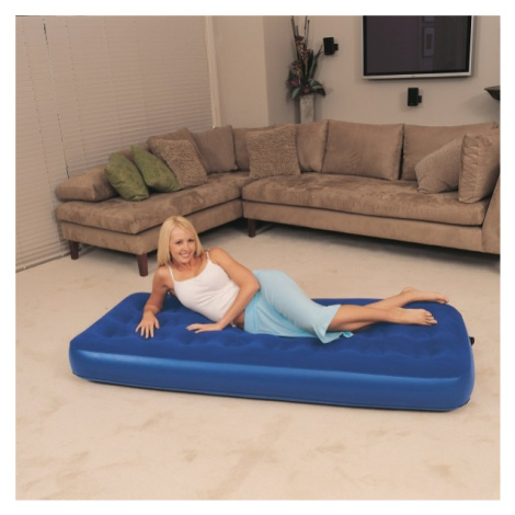 Bestway SINGLE FLOCKED - Inflatable mattress