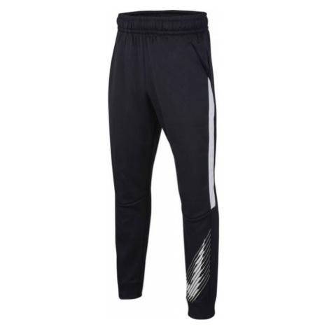 Nike THERMA GFX TAPR PANT B black - Boys' sweatpants