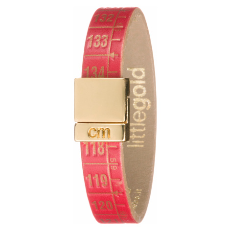 Il Centimetro Little Red Gold Bracelet Red Gold