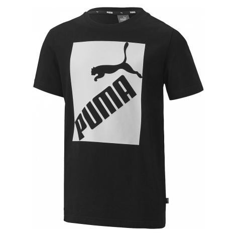 T-Shirt Puma Big Logo - Puma Black - men´s
