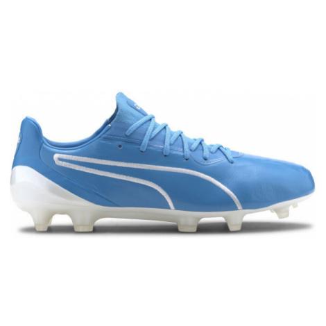 Puma KING PLATINUM FG-AG blue - Men's football shoes