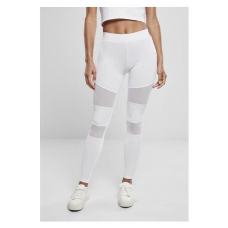 Urban Classics Ladies Tech Mesh Leggings white