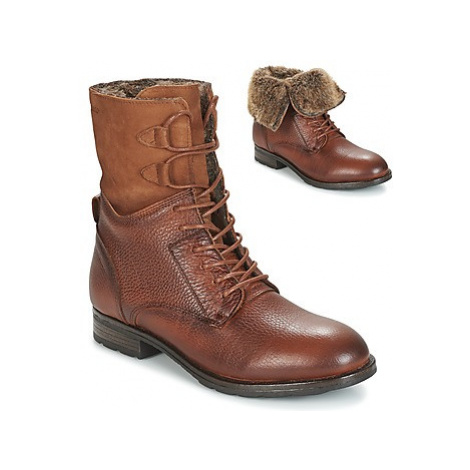 Sebago LANEY LACE BOOT women's Low Ankle Boots in Brown