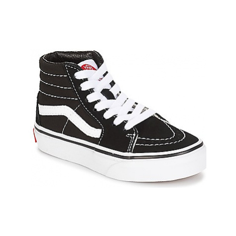 Vans UY SK8-HI girls's Children's Shoes (High-top Trainers) in Black