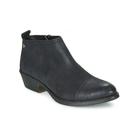Hush puppies SATONIE women's Low Ankle Boots in Black