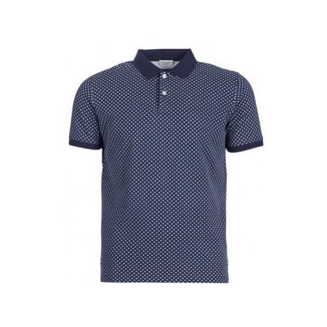 U.S Polo Assn. PETER PRINTED POLO men's Polo shirt in Blue U.S. Polo Assn