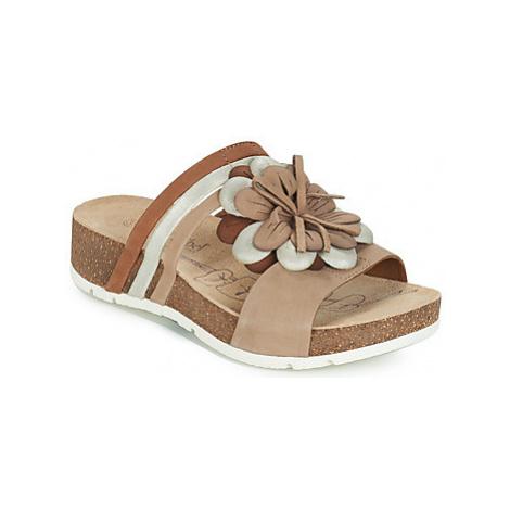 Josef Seibel TILDA 11 women's Mules / Casual Shoes in Beige
