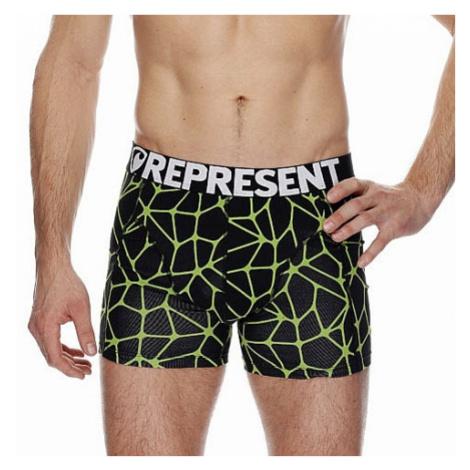 shorts Represent Sport Neuron - Black/Yellow