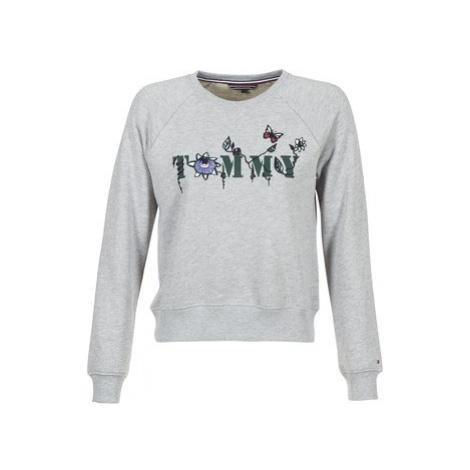 Tommy Hilfiger TOMMY-FLORAL women's Sweatshirt in Grey