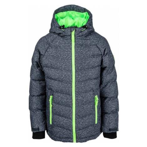 Green boys' sports winter jackets