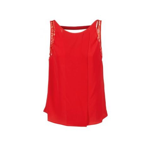 Naf Naf HERVE women's Blouse in Red