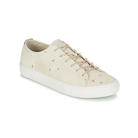 Armani jeans ASORITA men's Shoes (Trainers) in Beige