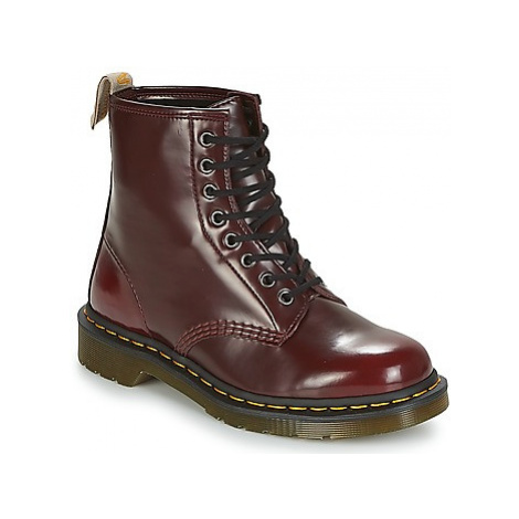 Dr Martens VEGAN 1460 women's Mid Boots in Red