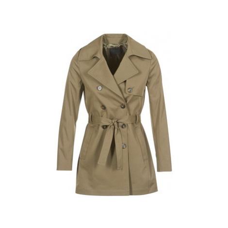 Ikks INTENDE women's Trench Coat in Kaki