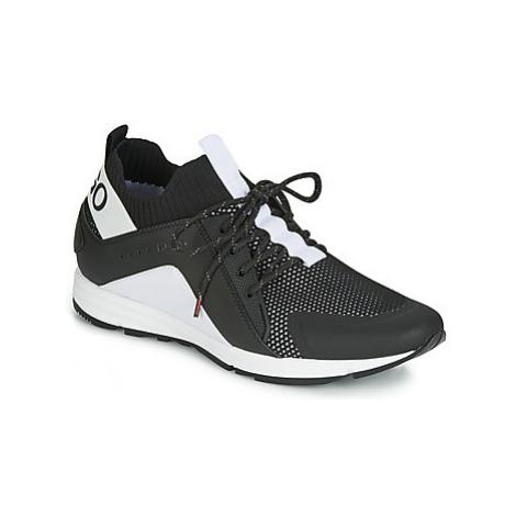 HUGO HYBRID RUNN KNBC men's Shoes (Trainers) in Black Hugo Boss
