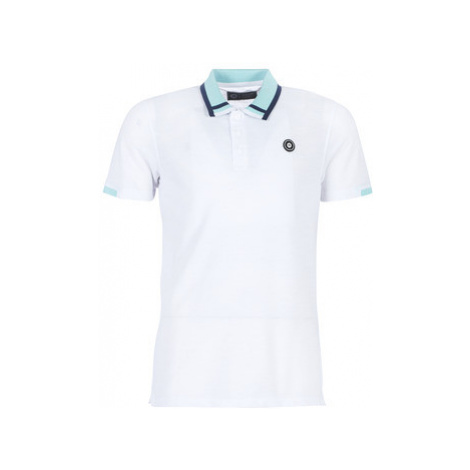 Jack Jones JCOKONAN men's Polo shirt in White Jack & Jones