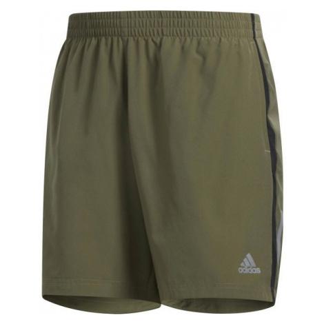 adidas OWN THE RUN SH dark green - Men's sports shorts