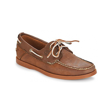 Timberland Heritage CW Boat 2 Eye men's Loafers / Casual Shoes in Brown