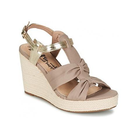 Xti NANAR women's Sandals in Beige
