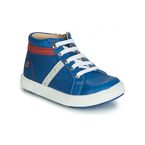 GBB VOLAGO boys's Children's Shoes (High-top Trainers) in Blue