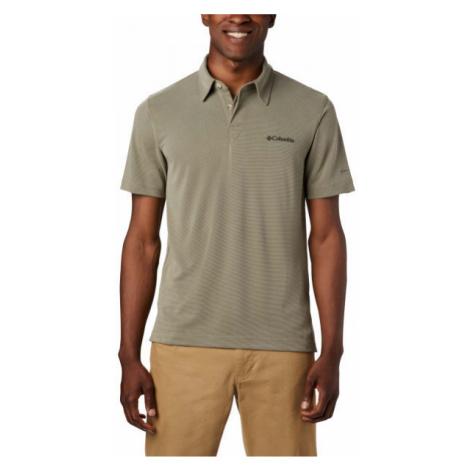 Columbia SUN RIDGE POLO grey - Men's polo shirt