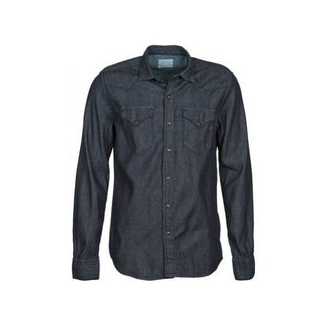 Replay M4860N men's Long sleeved Shirt in Grey