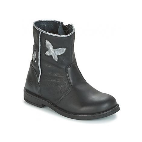 Citrouille et Compagnie HORELI girls's Children's Mid Boots in Black