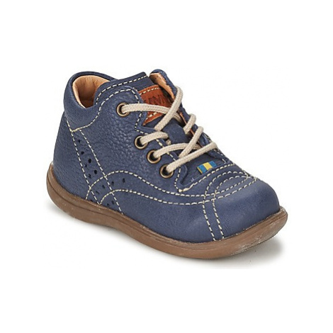 Kavat EDSBRO boys's Children's Mid Boots in Blue