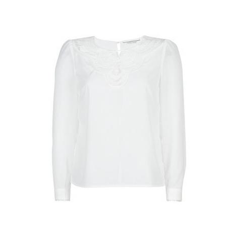 Naf Naf HONGRIE C1 women's Blouse in White