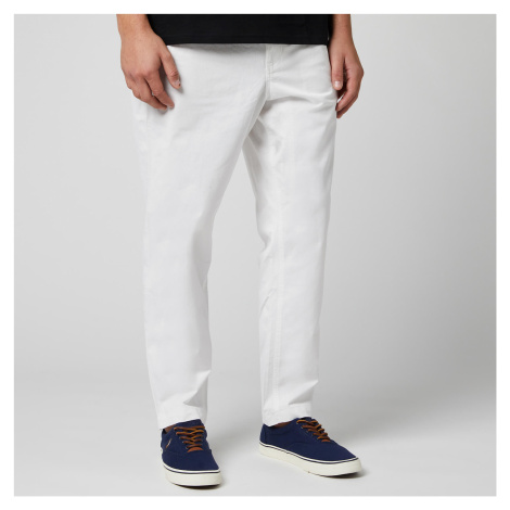 Polo Ralph Lauren Men's Tapered Fit Prepster Trousers - White