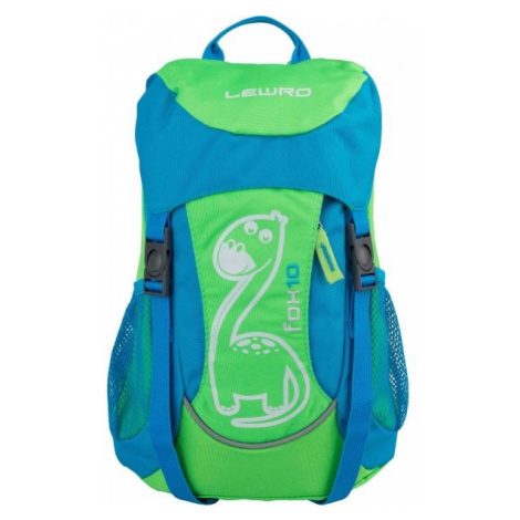 Lewro FOX 10 green - Children's backpack