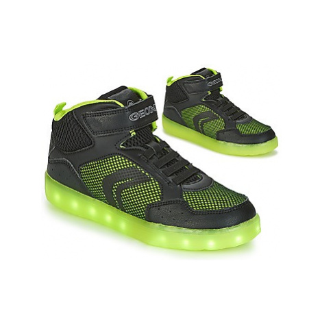 Geox J KOMMODOR B.C boys's Children's Shoes (Trainers) in Black