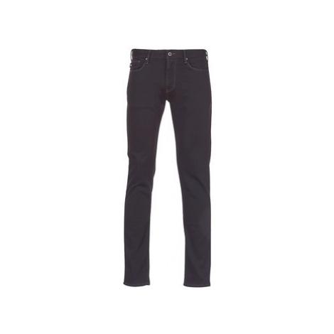 Emporio Armani ZEWAT men's Skinny Jeans in Blue