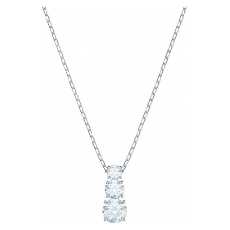 Swarovski Attract Trilogy Pendant Crystal Necklace | Valentine's Gifts
