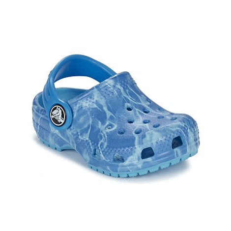 Crocs Classic Clog Graphic Kids boys's Children's Clogs (Shoes) in Blue