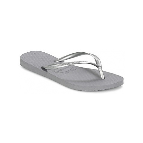 Havaianas SLIM women's Flip flops / Sandals (Shoes) in Grey
