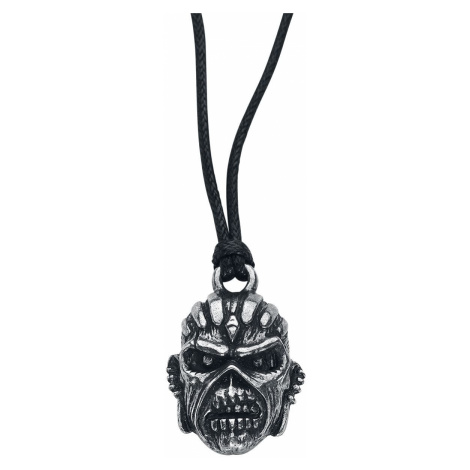 Iron Maiden Book Of Souls Necklace silver coloured