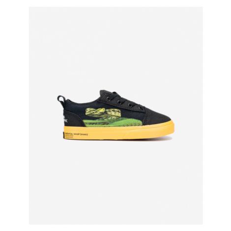 Vans Old Skool Elastic Kids Sneakers Black Yellow
