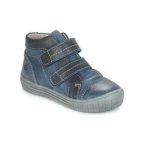 Citrouille et Compagnie ERMETTE boys's Children's Mid Boots in Blue